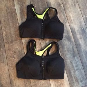 Two, Like New Nike Large Sports Bras